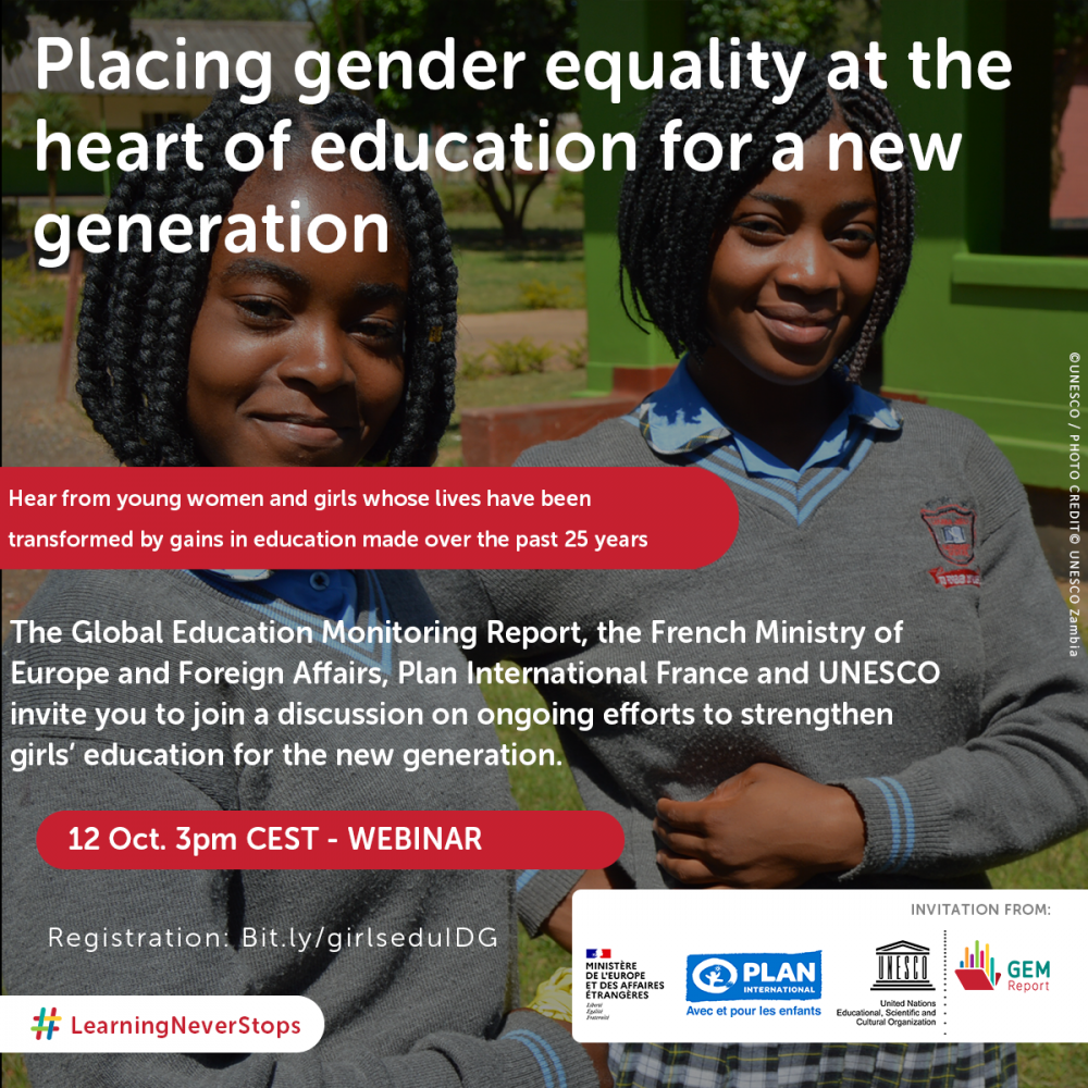 WIS and UNESCO's Gender Equality In Education