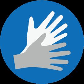[Icon] Sign Language (blue)