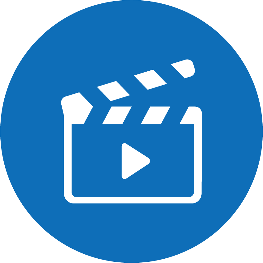 [Icon] Video Production(Blue_Circle)